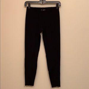 Anthropologie Silence + Noise legging.  Leg zips.